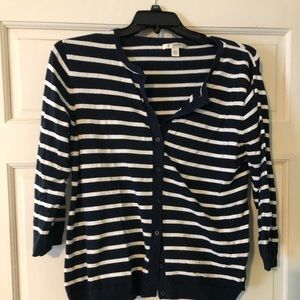 Liz Claiborne XL button down sweater